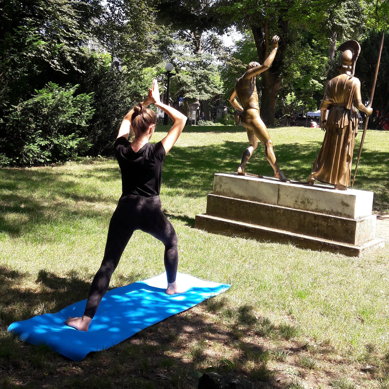 Yoga Im Liebieghaus Garten Liebieghaus