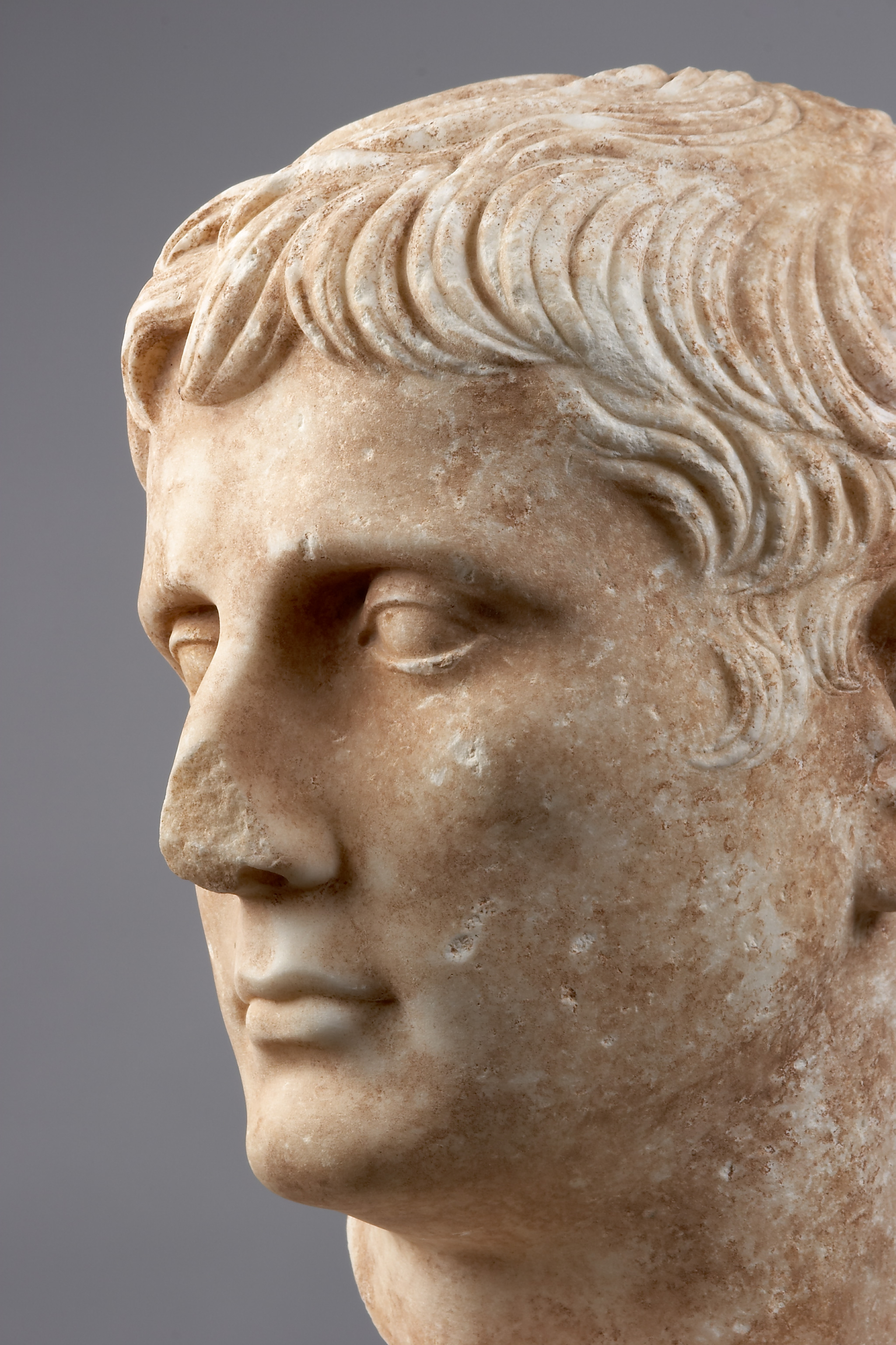 Portrait Of The Roman Emperor Augustus Liebieghaus
